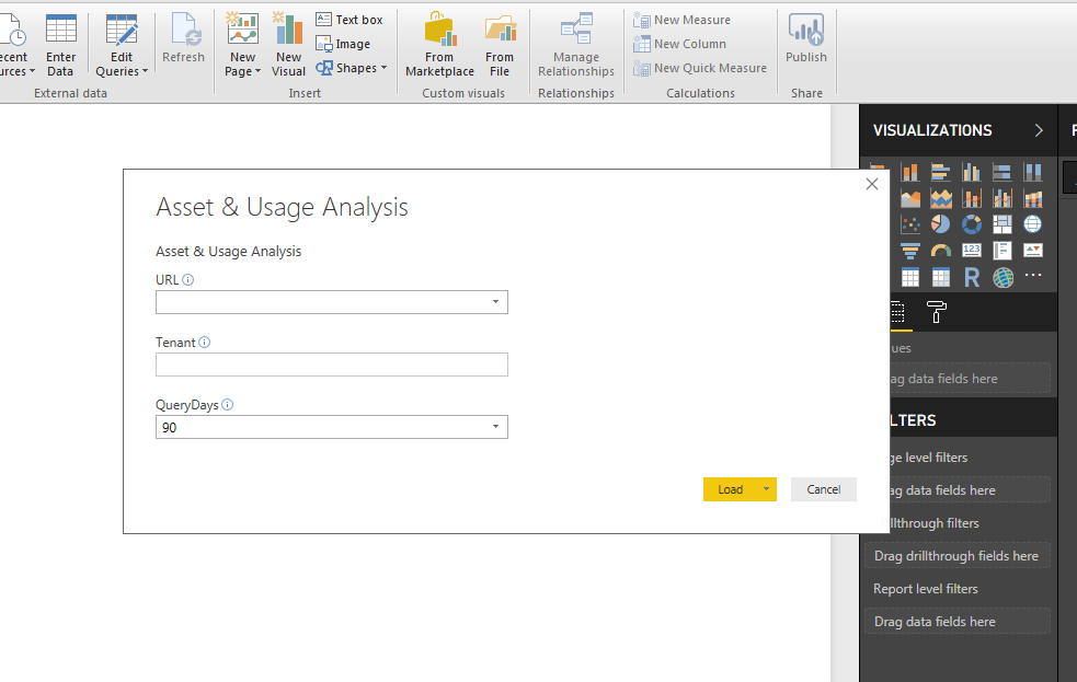 Asset & Usage Analysis – a Microsoft Power BI Application using